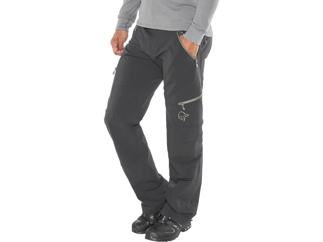 Norrøna Svalbard Flex1 Pantalones Hombre, caviar/castor grey